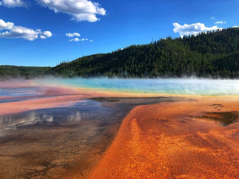 Grand Prismatic in Yellowstone