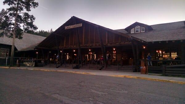 Lake Lodge in Yellowstone