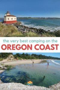 In this guest post we cover the 5 best State Parks for Oregon Coast camping. We also cover the best things to do in an around each campground!