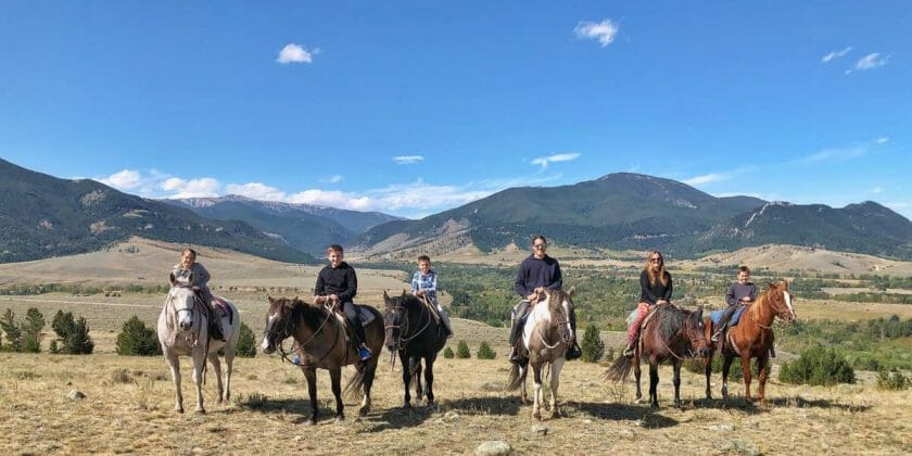 Horseback Riding Red Lodge