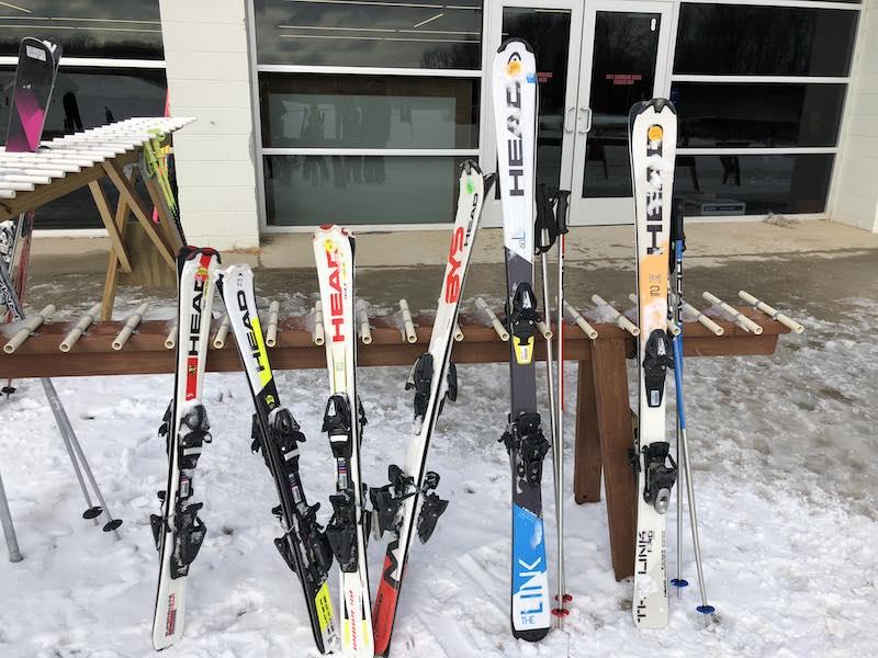 Ski Rentals at Wilmot Mountain