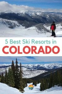 This awesome guest post covers 5 of the best ski resorts in Colorado for families. We've got pros and cons, trail info, activities, where to eat and more!
