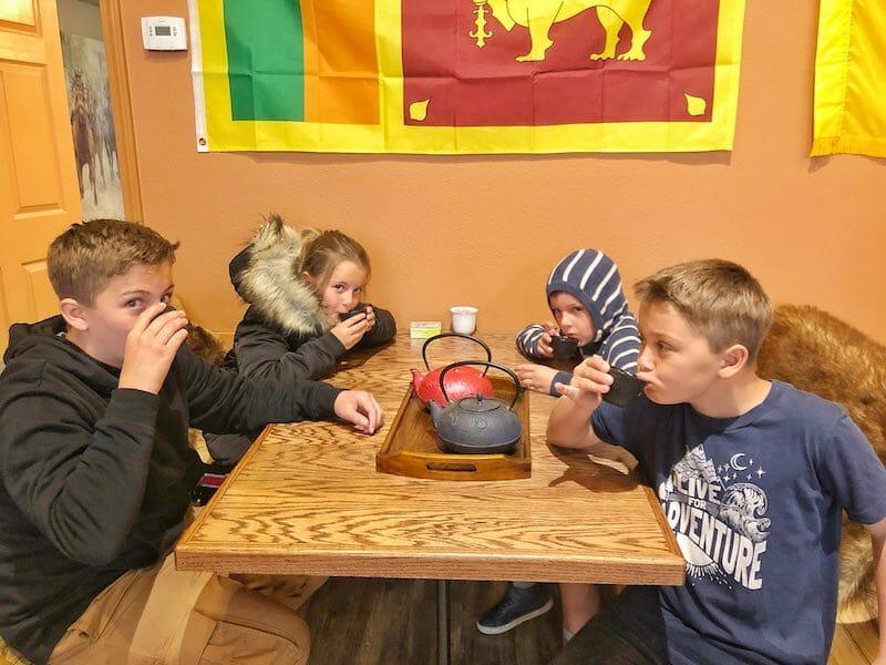 Phoenix Pearl Tea in Red Lodge