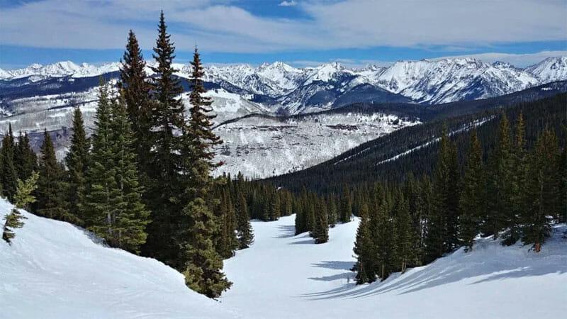 Vail Colorado skiinng