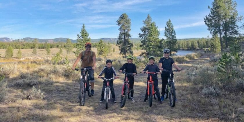West Yellowstone Biking