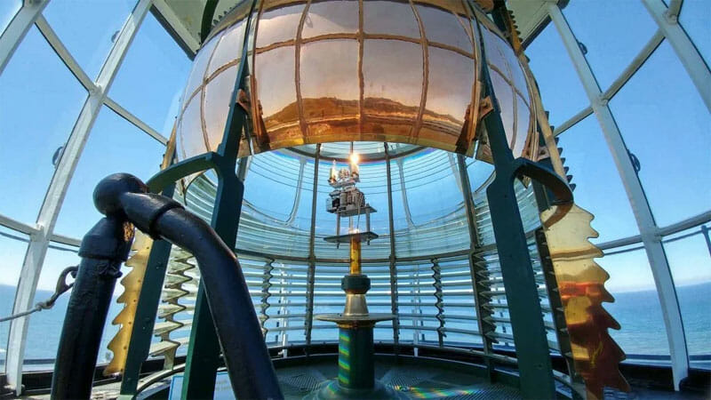 Lighthouse to explore while camping on the Oregon coast