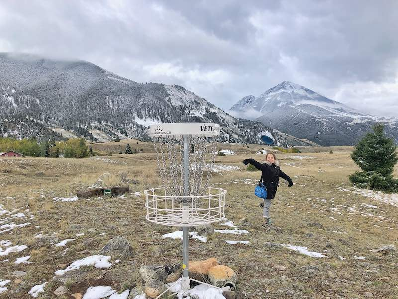 Chico Hot Springs Disc Golf