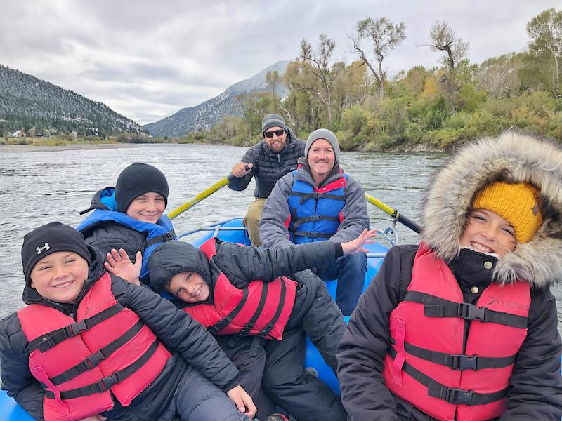 Float on the Yellowstone River in Livingston