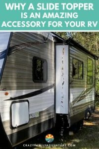 Find out what a slide topper is, what the benefits are of having one and also how to install one on your RV. Video of this awesome slide topper install included!