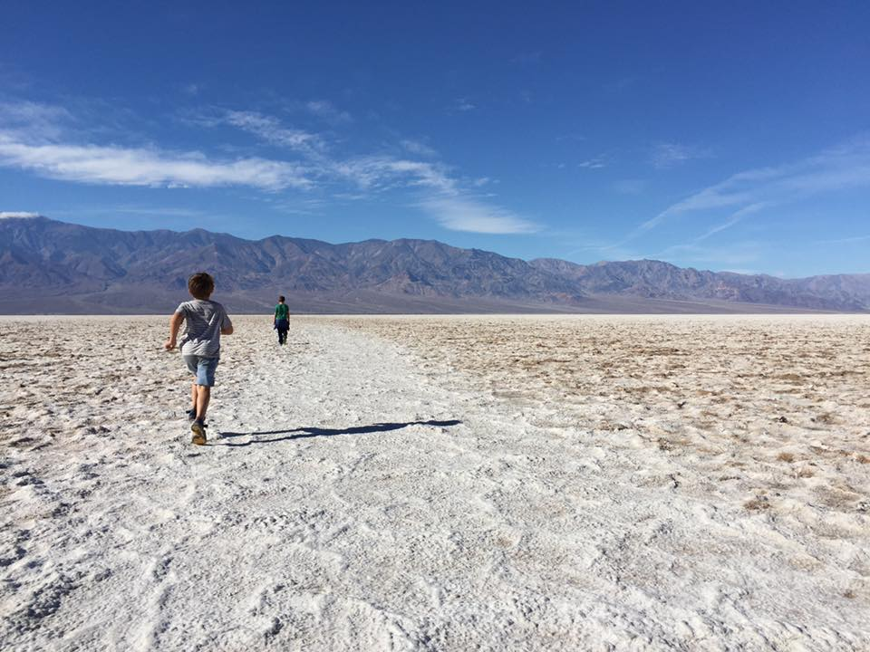 Death Valley in Southern California