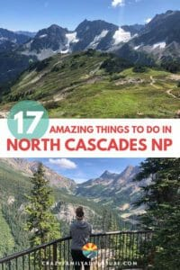 There are over 300 Glaciers! It is gorgeous and is definitely a National Park you should have you on your list. There are so many amazing things To Do In North Cascades National Park.