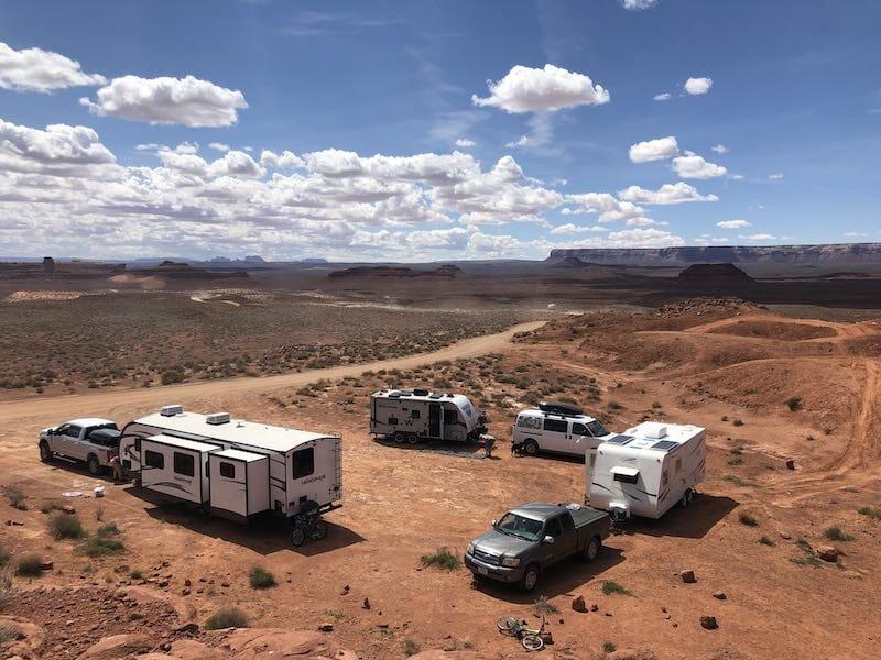 Boondocking Camping Spot