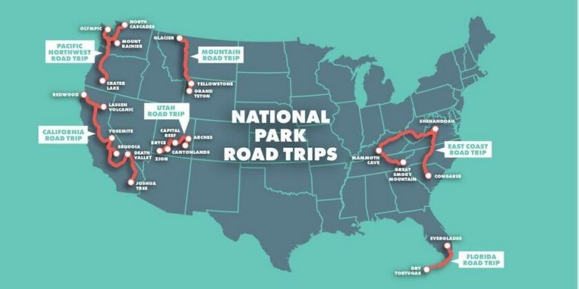 National Park Road Trip Ideas