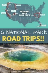 We share 6 different National Park road trips you can take. It would be hard to rank these since all of them are amazing trips and have something different and unique to offer.