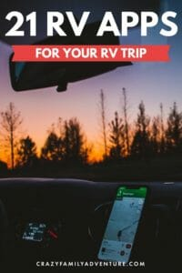 Between our 2 families we bring 10 years of RV travel experience and RV apps testing to the table! Check out the best RV apps for travel planning, activities, weather and more!