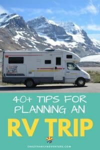 We have been living, working and traveling full time in an RV for the last 6 years with 4 kids. Below we share what we have learned as full time RVers to help you with planning an RV trip!