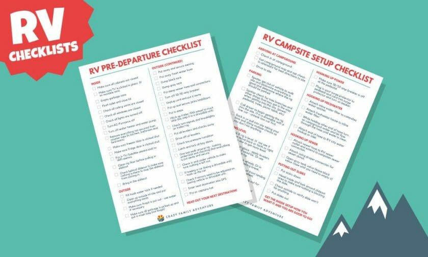 RV Checklist Featured