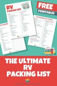 When you head on your RV trip you want to make sure you have everything you need. Here is our ultimate RV packing list so you can get your RV loaded up and ready to go for an amazing trip!