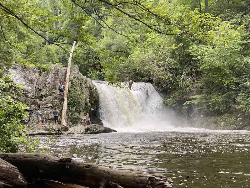 Abrahams Falls Trail