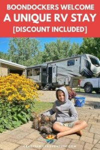 Boondockers Welcome is a unique RV Stay. Stay on Boondocker Welcome members property for free! With locations all over the US for camping this is a great tip for RV living or anyone looking for RV Tips!