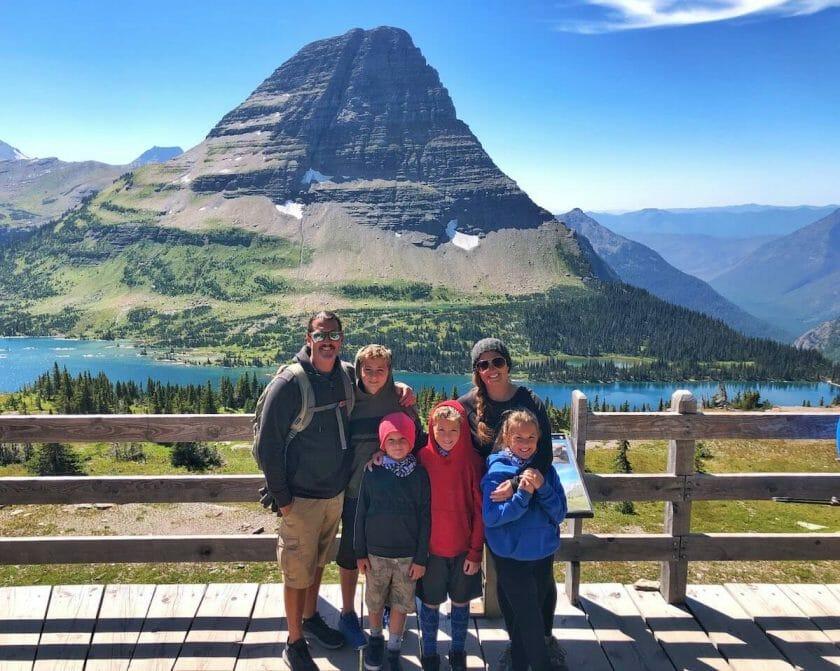 Hidden Lake Trail in Glacier National Park