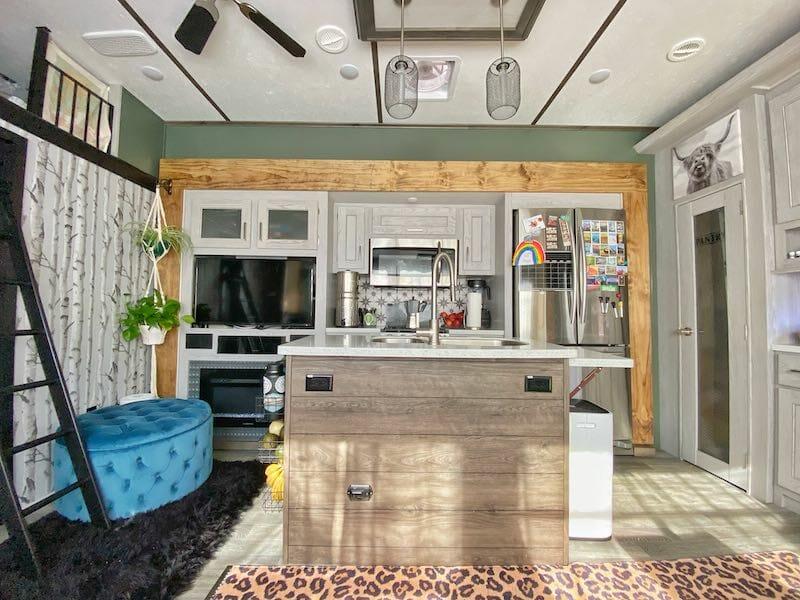 RV Remodel Idea Kitchen