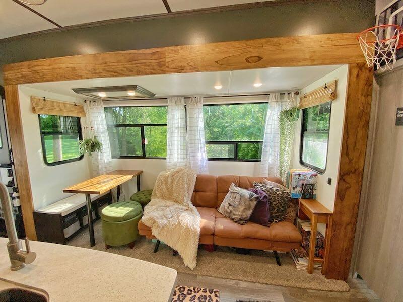 Living Room RV Remodel Ideas
