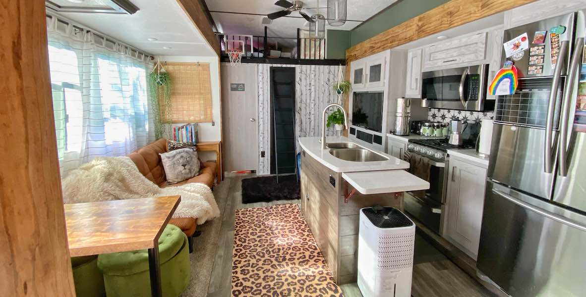 Fun And Simple Rv Remodel Ideas For Your 5th Wheel