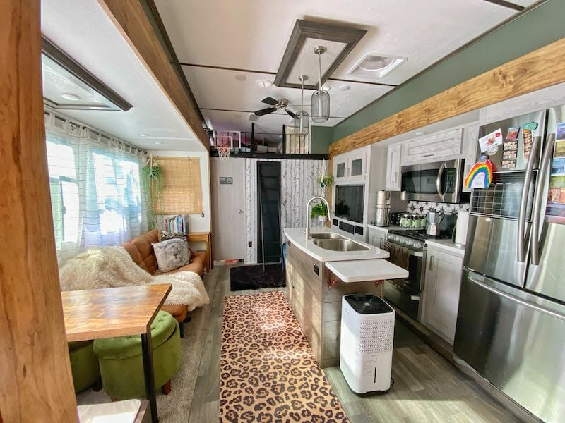 RV Remodel Ideas for the Living Space