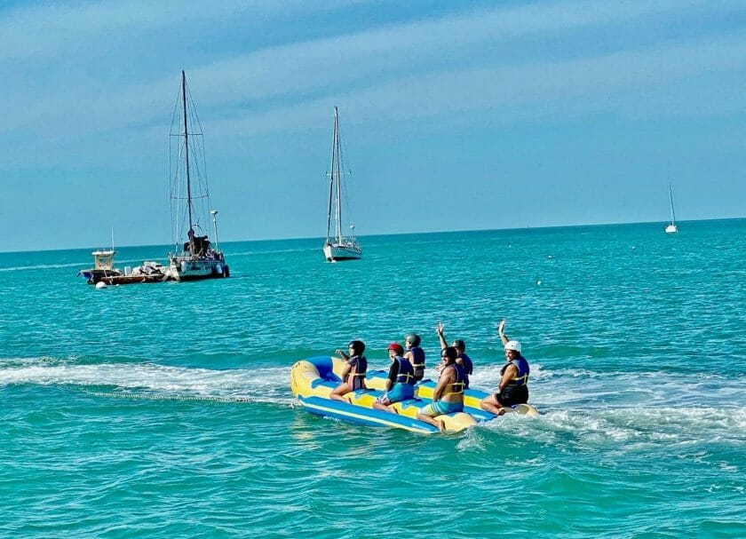 Things To Do In Key West Featured Image on Banana Boats