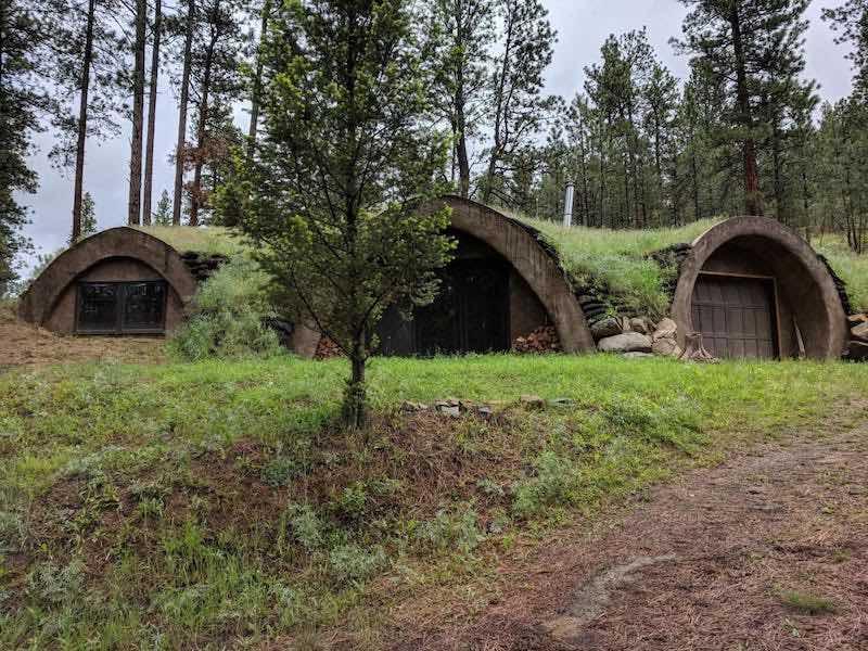 Earthhouse in Montana