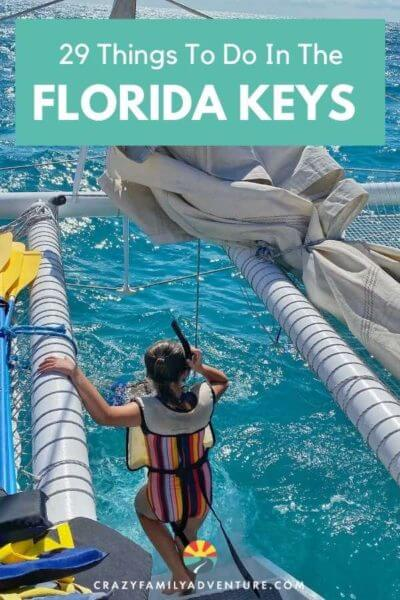 29 things to do in the Florida Keys! It is a great place to take a vacation or go on a road trip from Isla Morada to Marathon to Key West. It is also a great place to go with kids, snorkeling, beaches, camping and more. Click to see our recommendations and maps of the Florida Keys area!