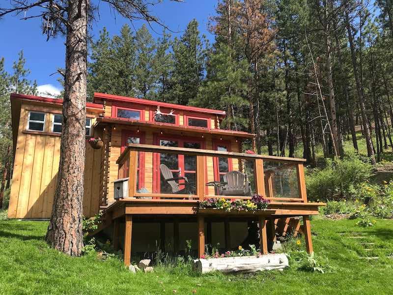 TinyHouse inn Montana
