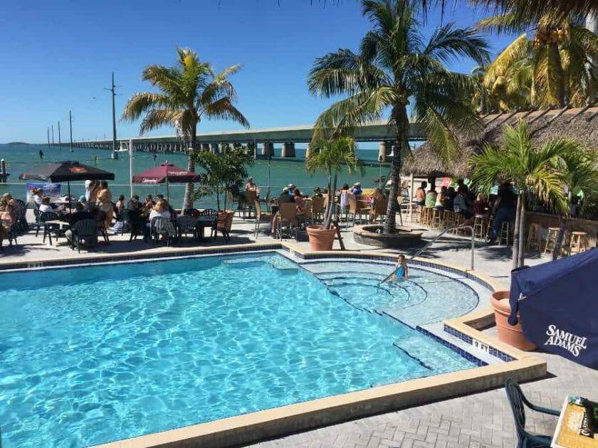 Sunset Grill restaurant in the Keys