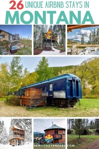 There are so many fun things to do in Montana that you are going to want the best place to stay! Winter or summer these Montana Airbnbs are an awesome choice! Had out for some fun with kids or without for some of top places to stay. These Airbnbs are in beautiful places and are so cool and unique! Come check them out and pick your favorite one as a basecamp for your adventure. P.S. 17 of them have hot tubs with amazing views!!
