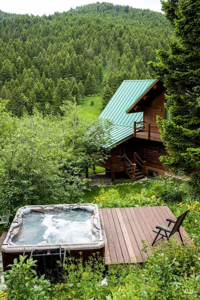 Log Home Airbnb