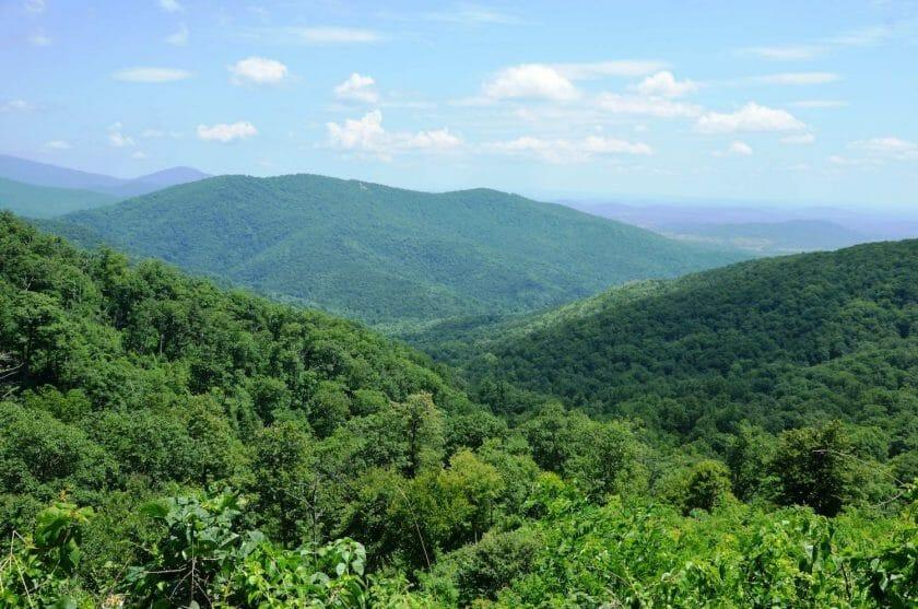 Shenadoah National Park in Virginia