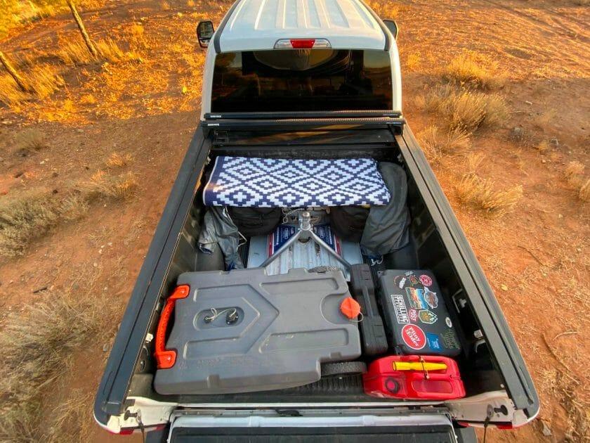 Truck bed - 5th wheel setup