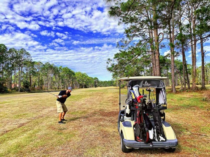 Golfing in Port St Joe Florida