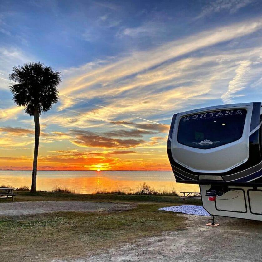 Presenells RV Park in Port St Joe Florida