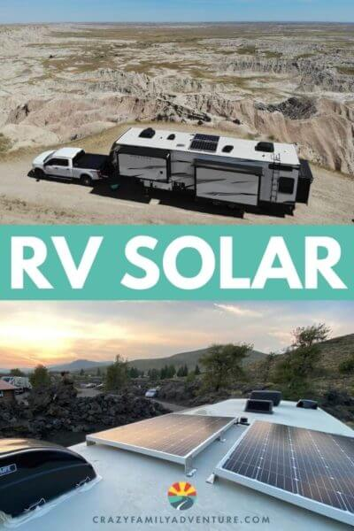 This is the perfect setup for RV Solar power. Come see how many panels we have, what kind of batteries and what kind of power system we had installed. It is an awesome setup for taking our rig off the grid. Keystone Montana High Country comes with a great solar prep and Future Solutions is an awesome company to work with for your solar install.