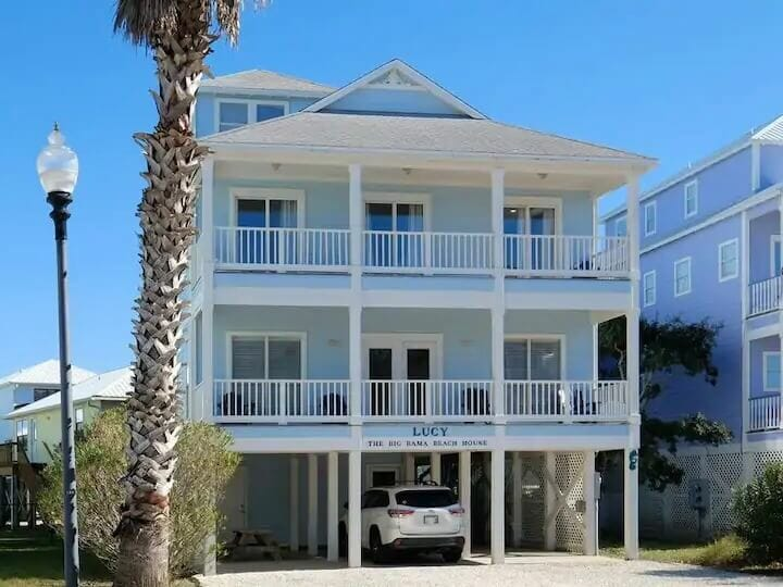 Big Bama Airbnb Gulf Shores House