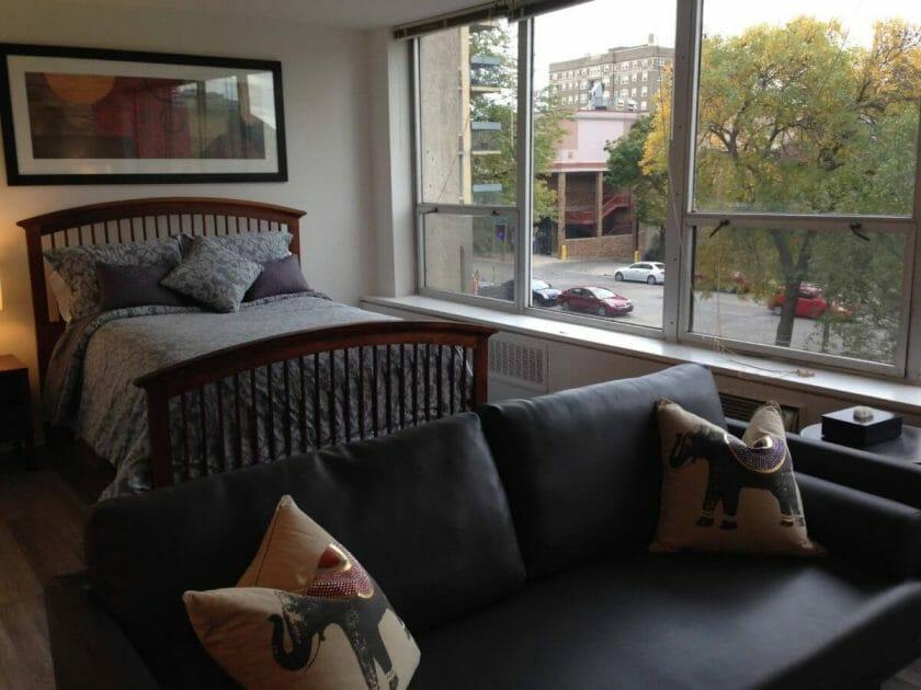 Private studio apartement