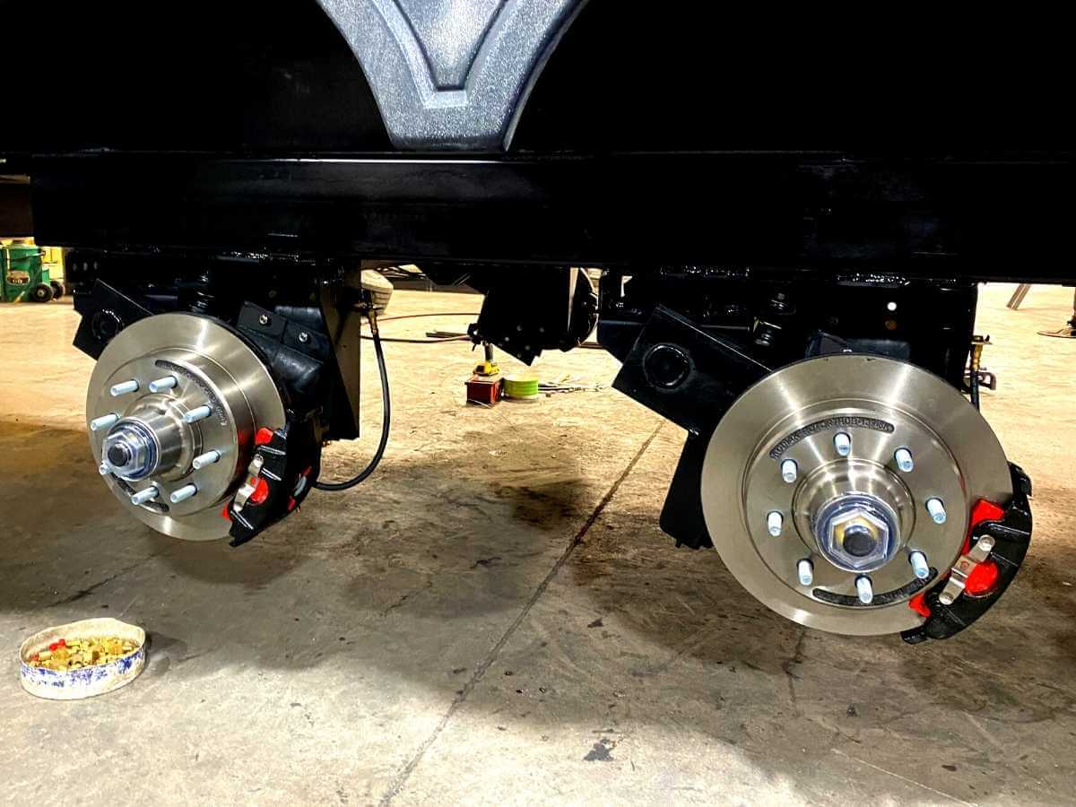 Disc brakes are a great RV upgrade to help stopping that big heavy rig you're towing.