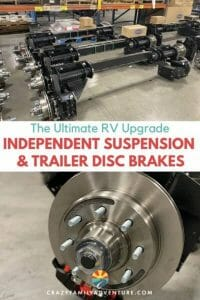The Ultimate RV Upgrade - Independent Suspension and Trailer Disc Brakes