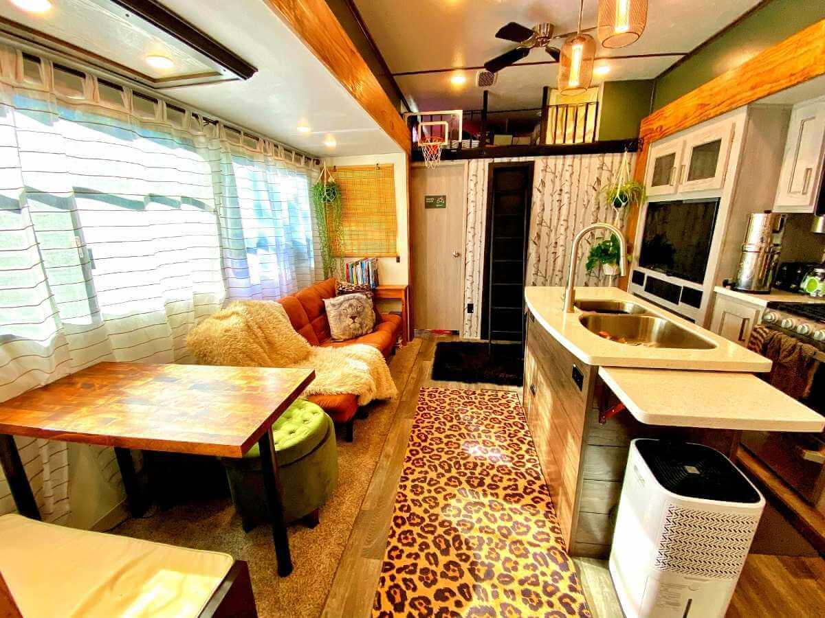 Upgrading your RV interior makes it feel like home.