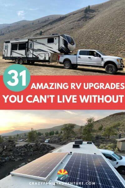 Pin these amazing RV Upgrades for later!