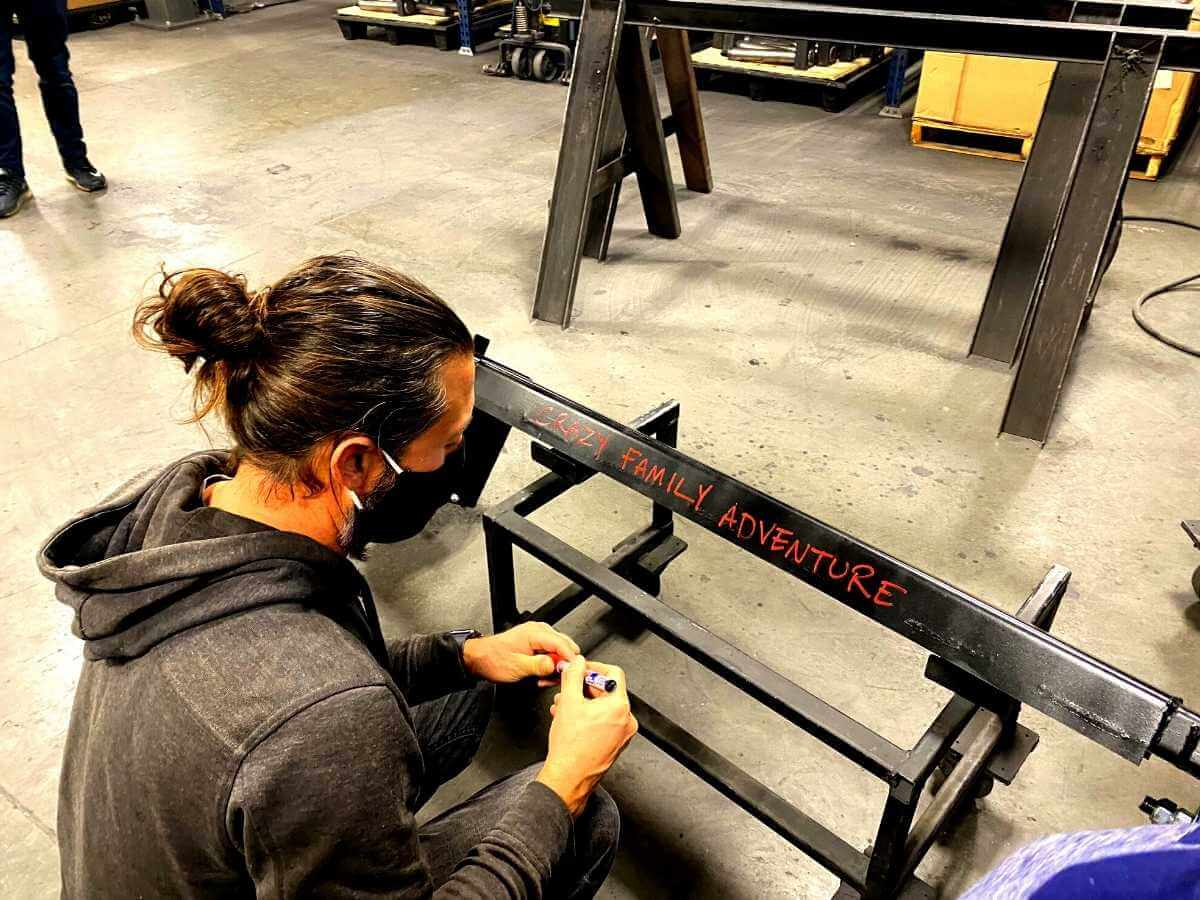 Signing our new suspension