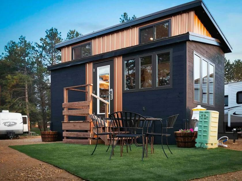 Tiny home option in Wisconsin Dells