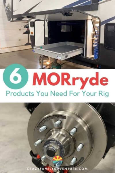 Check out these amazing RV upgrades that can be done to motorhomes, 5th wheels and trailers. Everything from suspension upgrades to brake upgrades to stabilizers, MORryde has it all.
